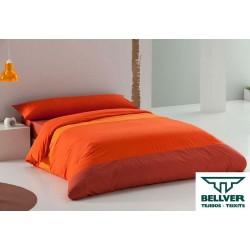 Funda Nórdica Tricolor (Naranja)